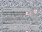 Abstractia: Winterborn theme preview