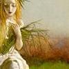 jane: artist: arthur hughs (grasses)