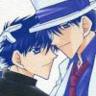 ext_8672: Kirakuya doujinshi cover (Kid/Conan)