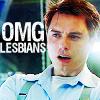 eumelia: (omg lesbians!)