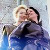 muccamukk: Rebecca and Amanda hugging and laughing (HL: Fun Femslash)