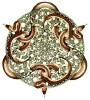 """sanguinity: woodcut by M.C. Escher, """"Snakes"""" (Default)"""