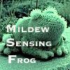 Mildew Sensing Frog