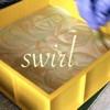 lauredhel: soapmaking - swirling the soap (soapswirl)