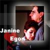 calliopes_pen: (weasleyqueen  Janine and Egon)