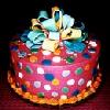 sraun: birthday cake (cake birthday)