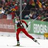 shadowspar: A cross-country skier skiing into a stadium (xcski)