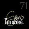 snickfic: text: Geno 71, I'm Score (malkin)