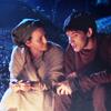 sophinisba: Hunith and Merlin at a campfire (hunith merlin by slightlytookish)