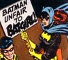 hradzka: (unfair to batgirl)