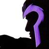 Magneto in silhouette