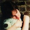 rosefox: Me hugging a giant teddy bear, very sad. (sad)