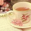 lizcommotion: a photo of a china teacup (tea)