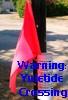 graycardinal: Yuletide warning flag (Yuletide Crossing)
